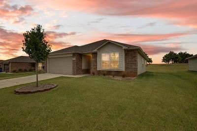 Noble Single Family Home For Sale: 1301 Granite Lane