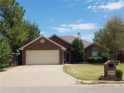 Altus Single Family Home For Sale: 2812 Gettysburg