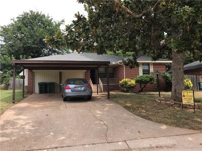 Edmond Single Family Home For Sale: 313 E 14th