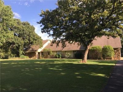 Edmond Single Family Home For Sale: 7800 Pleasant Oaks Drive