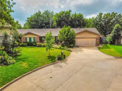 Oklahoma City Single Family Home For Sale: 9109 Whitehall Court