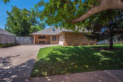 Edmond Single Family Home For Sale: 3025 Beverly Drive