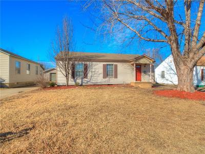 Midwest City Single Family Home For Sale: 510 W Lockheed