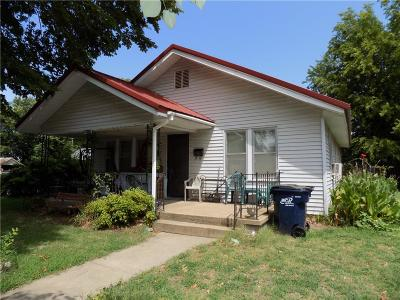 Anadarko Single Family Home For Sale: 715 W Kentucky