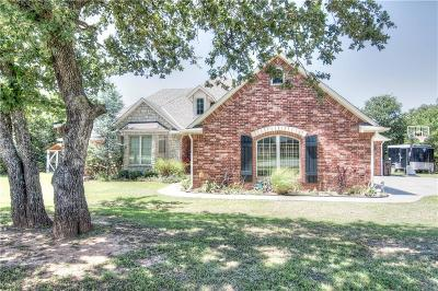 Blanchard OK Single Family Home For Sale: $259,000