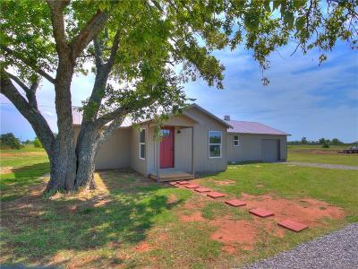 Blanchard OK Single Family Home For Sale: $141,900