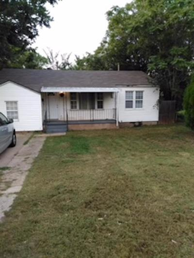 Midwest City Single Family Home For Sale: 7201 SE 15th Street