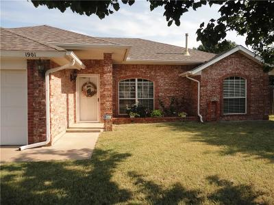 Edmond Single Family Home For Sale: 1901 NW 177th Street