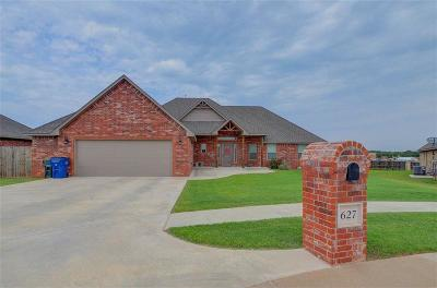 Blanchard OK Single Family Home For Sale: $217,500