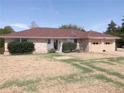 Altus OK Single Family Home For Sale: $160,000