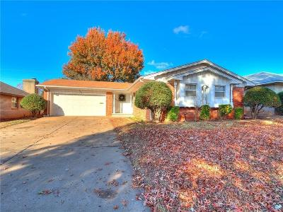 Midwest City Single Family Home For Sale: 1113 W Havenwood Drive