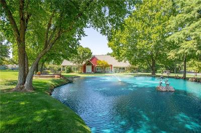 Edmond Single Family Home For Sale: 4909 Barrington Lane