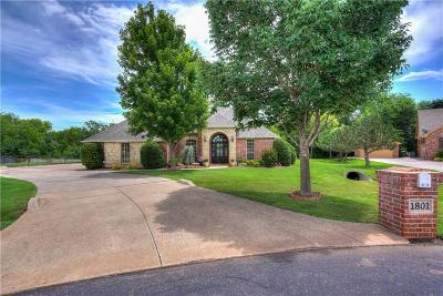 Edmond Single Family Home For Sale: 1801 Southerly Ridge