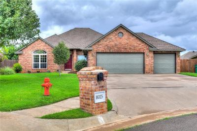 Edmond Single Family Home For Sale: 16325 Vallejo Place