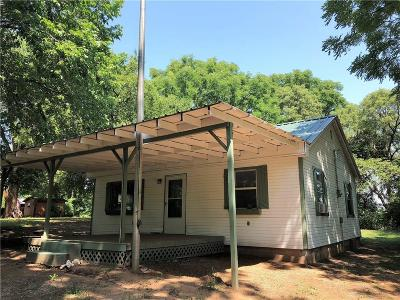 Crescent OK Single Family Home For Sale: $59,000