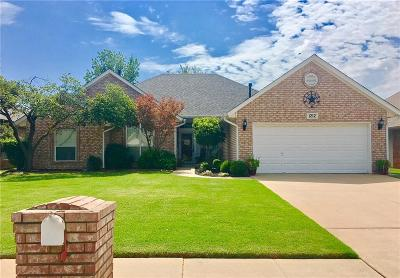 Edmond Single Family Home For Sale: 1212 Copperfield Drive