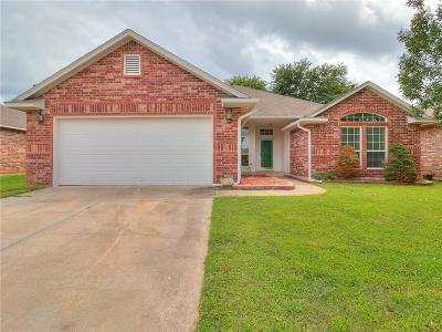 Edmond OK Single Family Home For Sale: $186,500