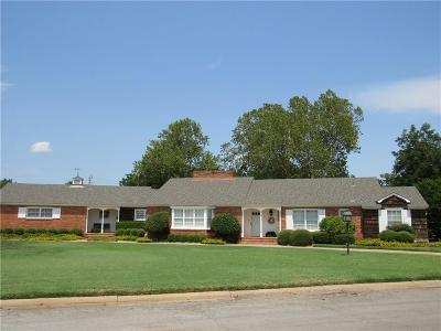 Altus OK Single Family Home For Sale: $179,500