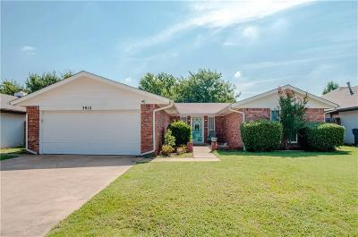 Edmond Single Family Home For Sale: 3912 Whispering Heights Drive