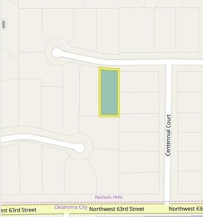 Nichols Hills Residential Lots & Land For Sale: 1506 Glenbrook Terrace