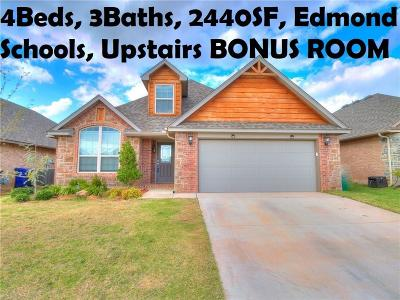 Edmond Single Family Home For Sale: 3325 NW 161st Street