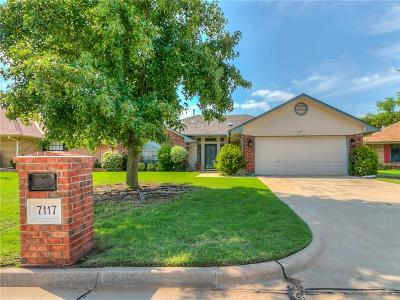 Oklahoma City Single Family Home For Sale: 7117 NW 102nd Street