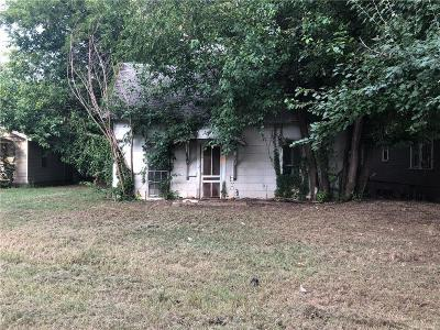 Crescent OK Single Family Home For Sale: $8,500