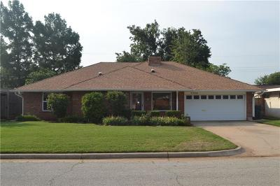 Oklahoma City OK Single Family Home For Sale: $174,900