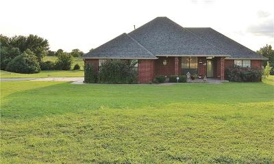 Blanchard OK Single Family Home For Sale: $222,900