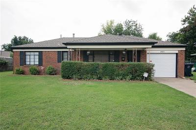 Oklahoma City Single Family Home For Sale: 4909 Nimitz Blvd