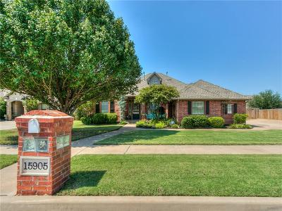Edmond Single Family Home For Sale: 15905 Teesdale Road