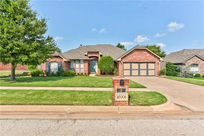 Edmond Single Family Home For Sale: 16005 Hardwick Road