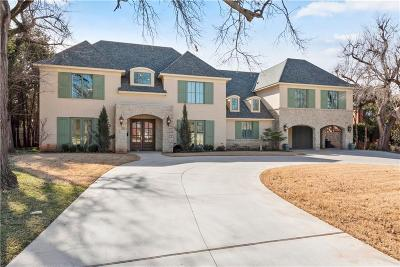 Nichols Hills OK Single Family Home For Sale: $1,750,000