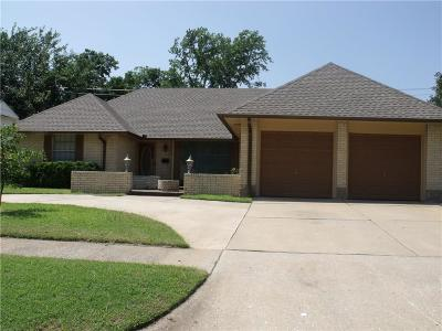 Midwest City Single Family Home For Sale: 3105 Shadybrook
