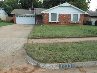 Oklahoma City Single Family Home For Sale: 3308 Overland Drive