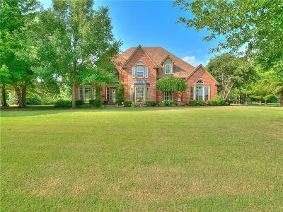 Choctaw Single Family Home For Sale: 470 Hickory Hill