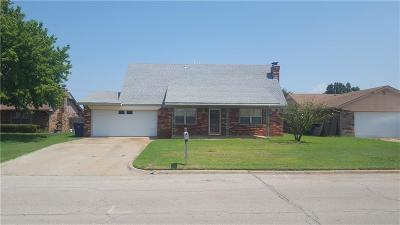 Chickasha Single Family Home For Sale: 3309 S 25th Street
