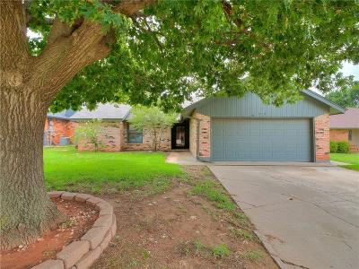 Yukon Single Family Home For Sale: 312 Choctaw