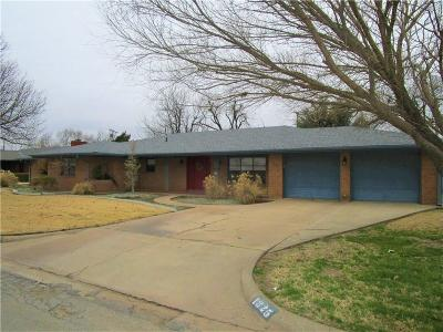 Altus Single Family Home For Sale: 1825 N Main Street