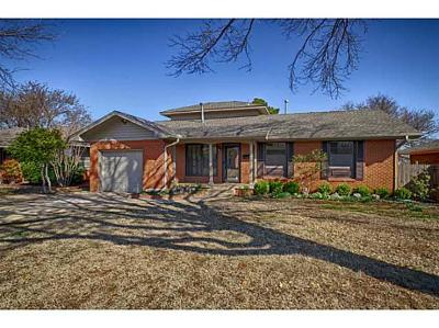 Oklahoma City Single Family Home For Sale: 2813 NW 67th Street