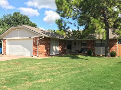 Edmond Single Family Home For Sale: 1100 Pintail Place