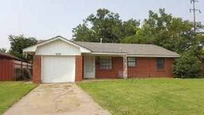 Oklahoma City OK Single Family Home For Sale: $67,900