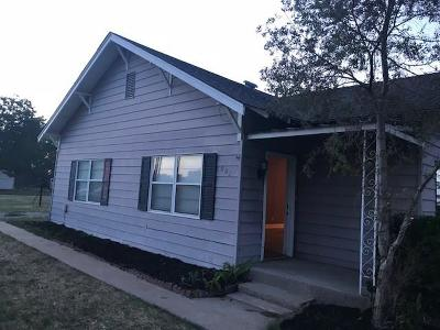 Olustee OK Single Family Home For Sale: $29,900
