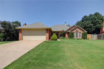 Edmond Single Family Home For Sale: 1405 Jamestown