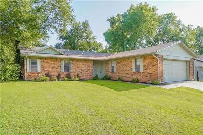Noble Single Family Home For Sale: 4616 Brookwood Drive