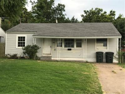 Del City Single Family Home For Sale: 3900 Mallard Drive