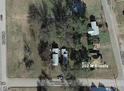 Chickasha Single Family Home For Sale: 202 W Illinois Ave