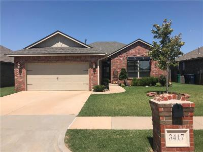 Edmond Single Family Home For Sale: 3417 NW 163rd Street