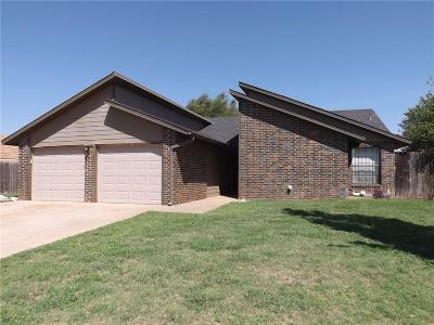 Altus Single Family Home For Sale: 3512 Kings Way
