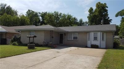 Del City Single Family Home For Sale: 4736 SE 22nd Street